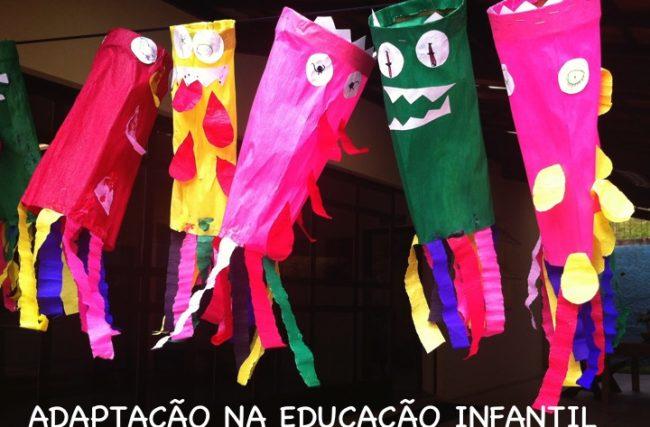 Sobre a adaptação das crianças da educação infantil